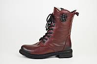 Ботинки зимние высокие бордовый Ripka 225