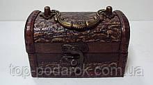 Скринька дерев'яний розмір 11*7*6