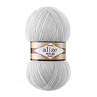 Alize Angora Real 40 Plus № 21 светло серый