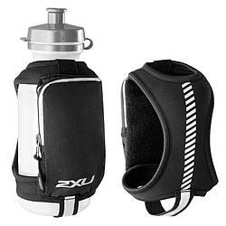 Спортивный держатель для бутылки на руку 2XU UQ3213g (чёрный / чёрный)