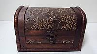 Сундучок деревянный размер 17*10*11