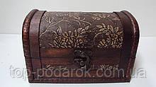 Скринька дерев'яний розмір 17*10*11