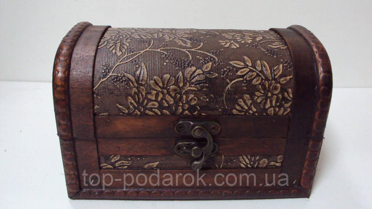 Сундучок деревянный размер 17*10*11, фото 1