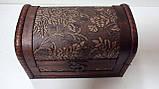Сундучок деревянный размер 17*10*11, фото 2