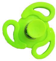 Спиннер обычный Springing Top салатовый | тренажёр для пальцев рук | спинер | игрушка антистресс