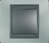 Рамка 2 пост. вертикальна Unica Top смарагдовий/графіт MGU66.004V.294, фото 2