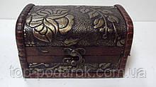 Скринька дерев'яний розмір 14*8*8