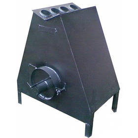 Теплогенератор на дрова БИЗОН тип Ю - 5, 7, 9, 12-500 кВт