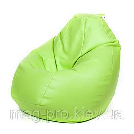 Бескаркасное кресло-груша Кожзам M(110/80/80)