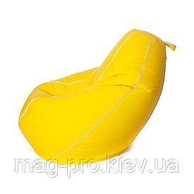 Безкаркасне крісло-груша Кожзам S(90/60/60) покращений
