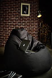 Безкаркасне крісло-груша Кожзам M(110/80\80) улечшенный