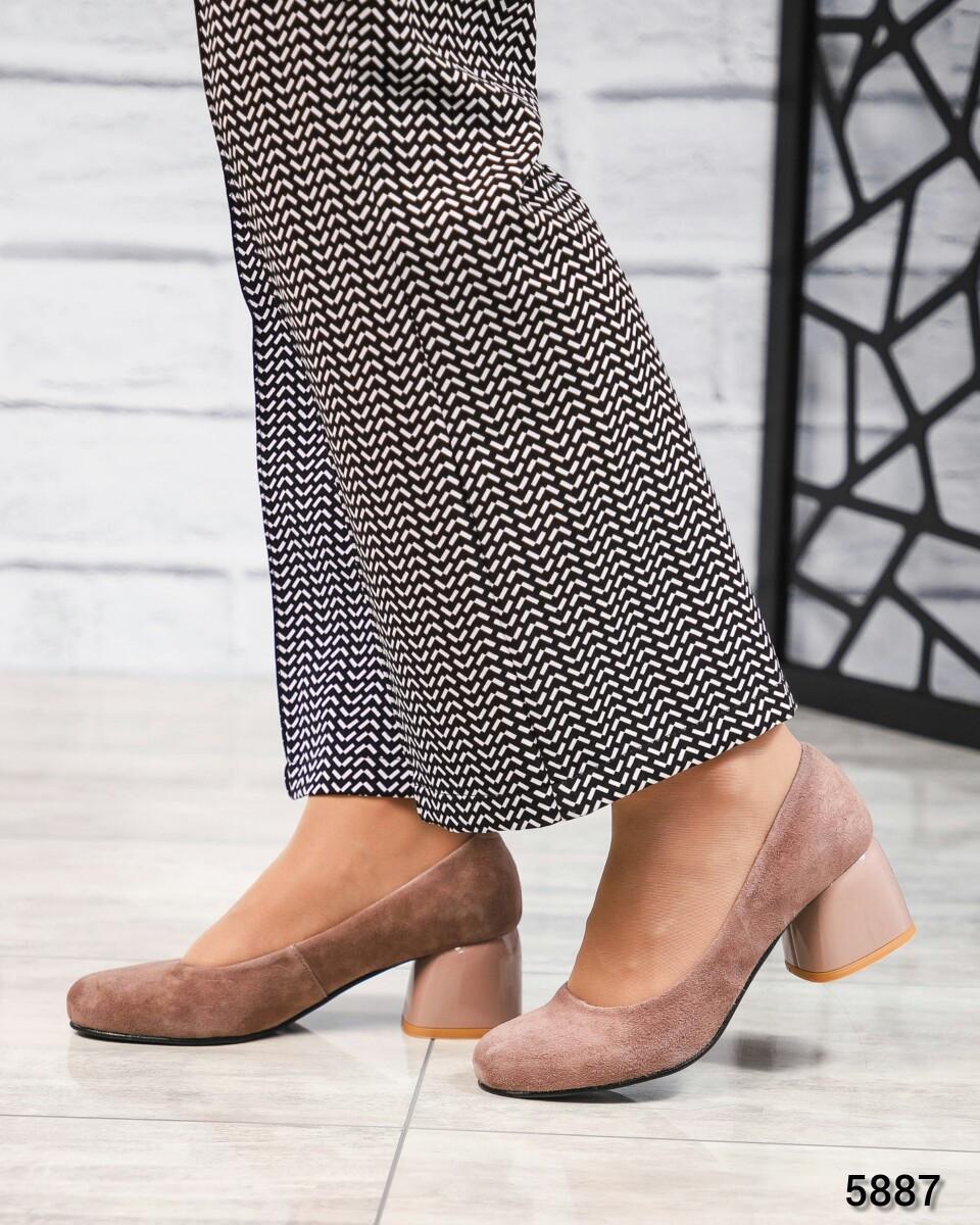 Женские Туфли на среднем каблуке. Размер 37