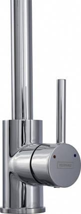 Kernau KWT 07A CHROME высокий смеситель для кухни (сталь/хром), фото 2