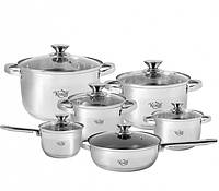 Набор посуды 12 предметов Krauff 26-242-008