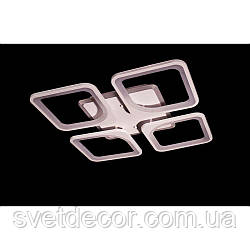Люстра светодиодная потолочная Led 8060/4 dimmer с пультом белая