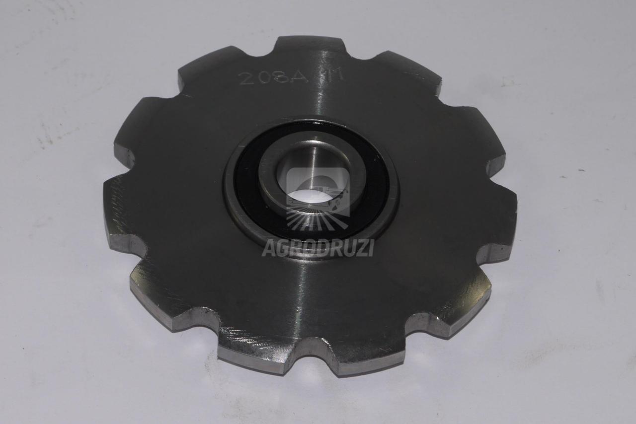 Зірочка натяжна з підшипником приводу елеваторів Z11 fi12 John Deere AH15303 AH15303