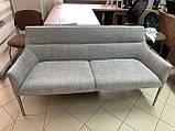 Банкетка MERIDA 160*65*80 светло-серый (бесплатная доставка), фото 2