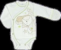Бодик для новорожденных с закрытыми ручками ТМ Ляля