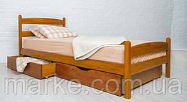 """Ліжко дерев'яне односпальне """"Ликерія"""" з ізножьем 900*2000"""