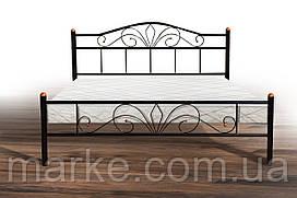 Двоспальне металева ліжко 1600х2000 Релакс