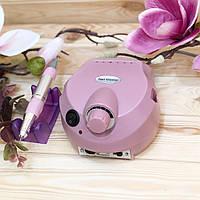 Аппарат для маникюра ZS-601 (60 Вт, 35000 об.) розовый