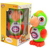 Интерактивная игрушка умный попугай Розумака 7064, украинский яз. Аудиосказки, стихи, песни, игры, колыбельная