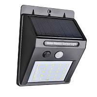Настенный светильник на солнечной батарее с датчиком движения (100171)