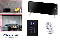 Конвектор электрический Concept Premium (Чехия)черный/белый