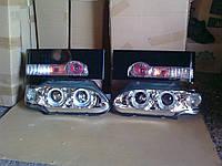 Передние фары+задние фонари на ВАЗ 2114 №1.