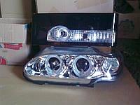 Передние фары Ангельские глазки + задние фонари Освар №1 на ВАЗ 2114