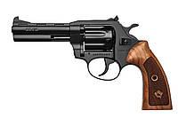 Револьвер под патрон Флобера Alfa mod.441, black/classic wood handle 11