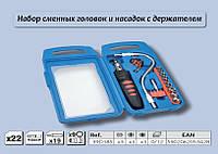 Набор насадок и сменных головок с держателем 22 шт., Top Tools 39D185