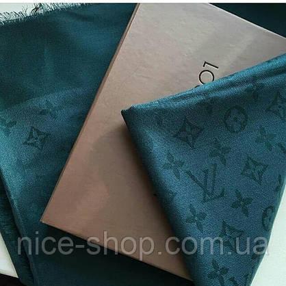 Палантин Louis Vuitton бутылочный, фото 3