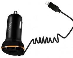 Автомобильная зарядка Hoco Z14 с Lightning (1USB, 3.4A)