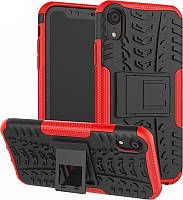 Чехол-накладка TOTO Dazzle Kickstand 2 in 1 Case Apple iPhone XR Red