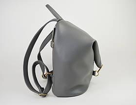 Рюкзак кожаный серый Voila 1884068, фото 2