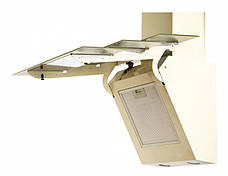 Кухонная вытяжка Eleyus Троя LED 90 /1200 WH (бежевая, белая), фото 2