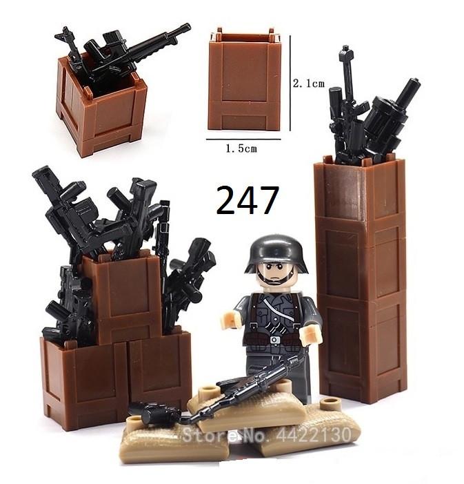 Ящики для оружия фигурок Lego Лего