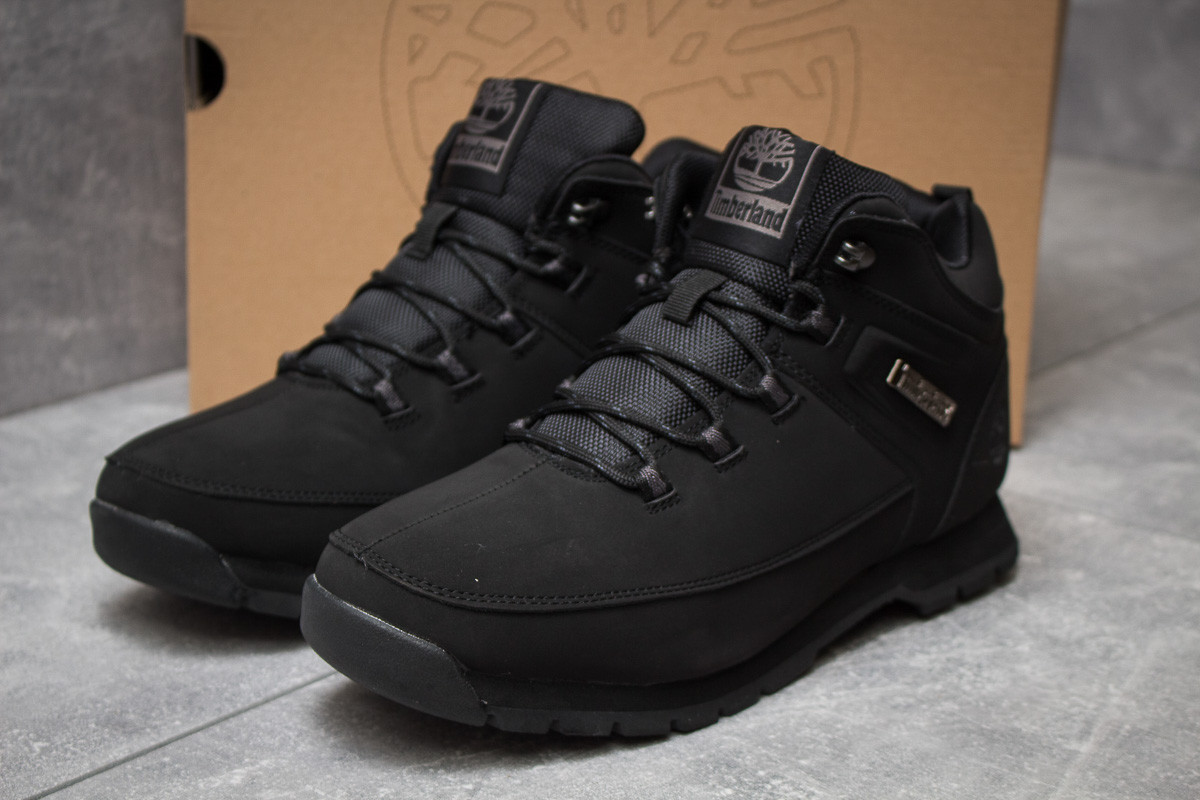 Зимние кроссовки Timberland Euro Sprint Hiker, черные (30031) размеры в наличии ► [  41 46  ]
