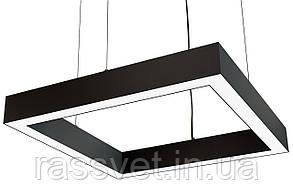 Светодиодный линейный светильник Квадрат, профильный ,офисный  2500k-6000k 25-500 вт Square