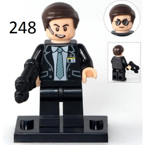 Фигурки swat спецназовцы военные солдаты Лего Lego BrickArms спецагент ФСБ СБУ