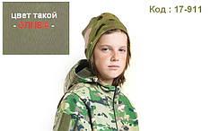 Бафф шапка-шарф камуфляжная цвет олива