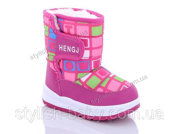 Детская обувь 2019 оптом. Детская зимняя обувь бренда Hengji для девочек (рр. с 22 по 27), фото 2