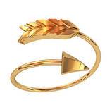 Кольцо  женское серебряное Стрела, фото 5