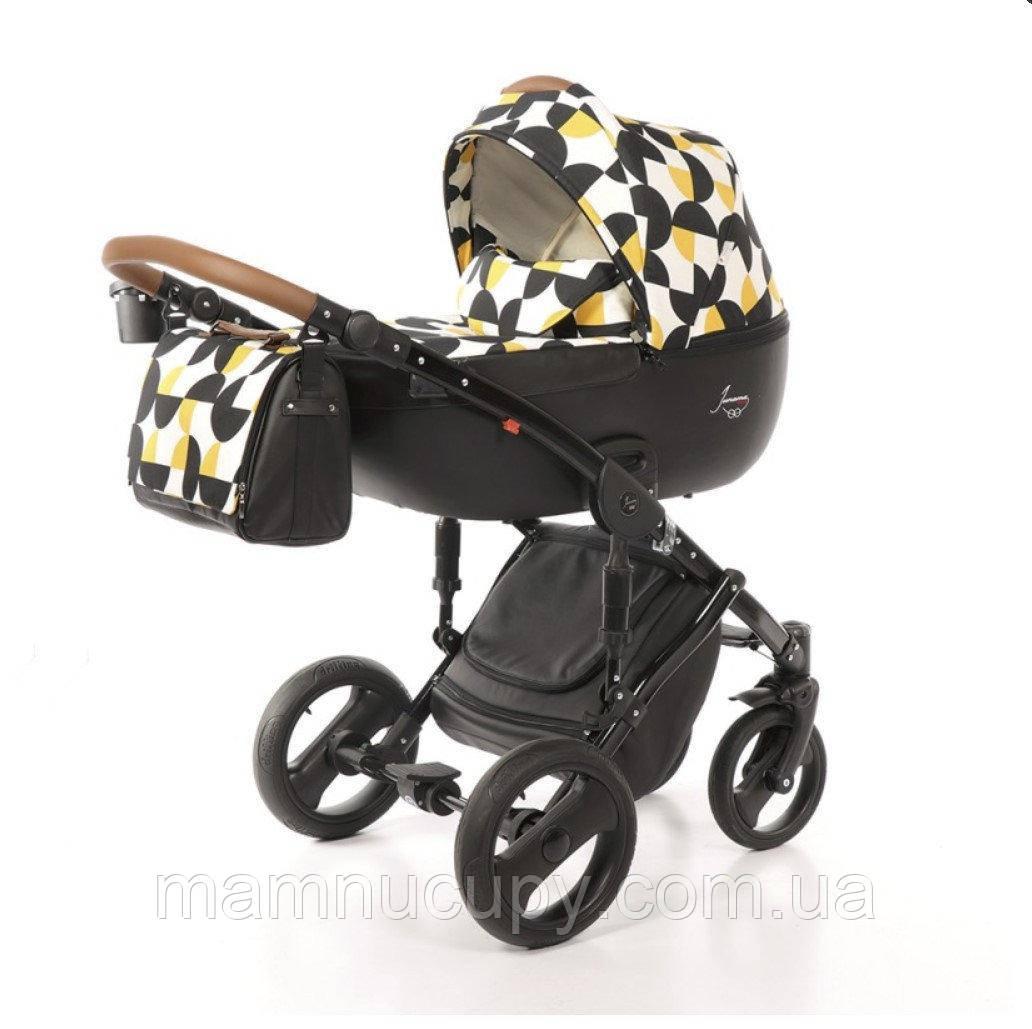 Детская универсальная коляска 2 в 1 Junama Limited Edition PacMan