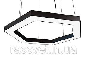 Светодиодный линейный светильник шестигранник, сота, профильный ,офисный  2500k-6000k 21-240вт Nexagon