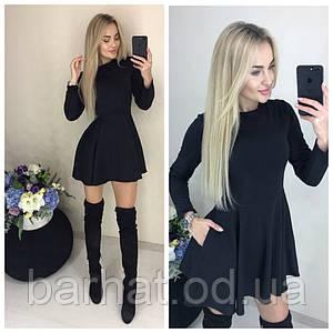 Стильное платье черного цвета New Look 42-44, 44-46р.