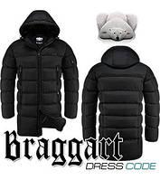 Куртка удлиненная зимняя мужская Braggart Dress Code - 2041A черная