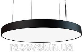 Светодиодный светильник круг подвесной, накладной, профильный ,офисный  2500k-6000k 21-240вт Ronde