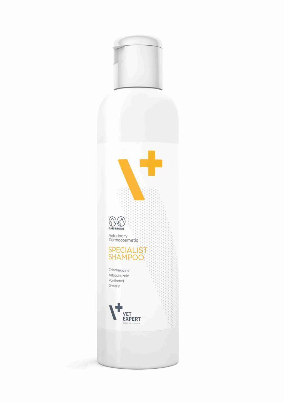 Антибактеріальний - протигрибковий шампунь VetExpert 250 мл